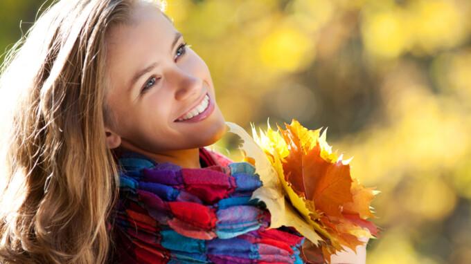 Правильный уход за кожей и волосами осенью