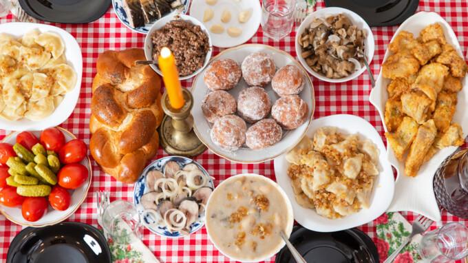 Блюда на Рождественский сочельник